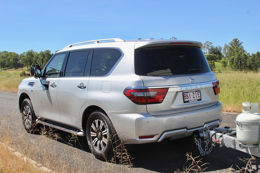 2020 Nissan Patrol rear shot
