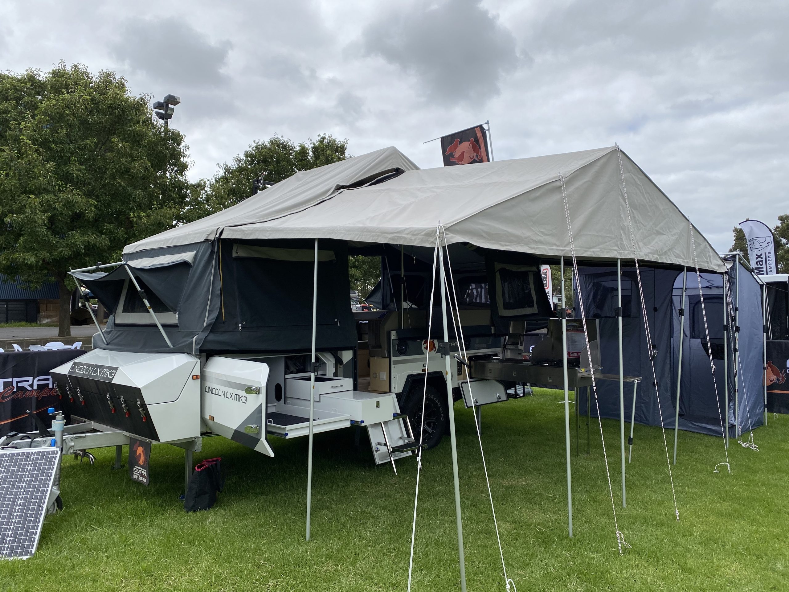 Ezytrail Lincoln LX Mk3 camper-trailer now comes with lifetime off-road warranty