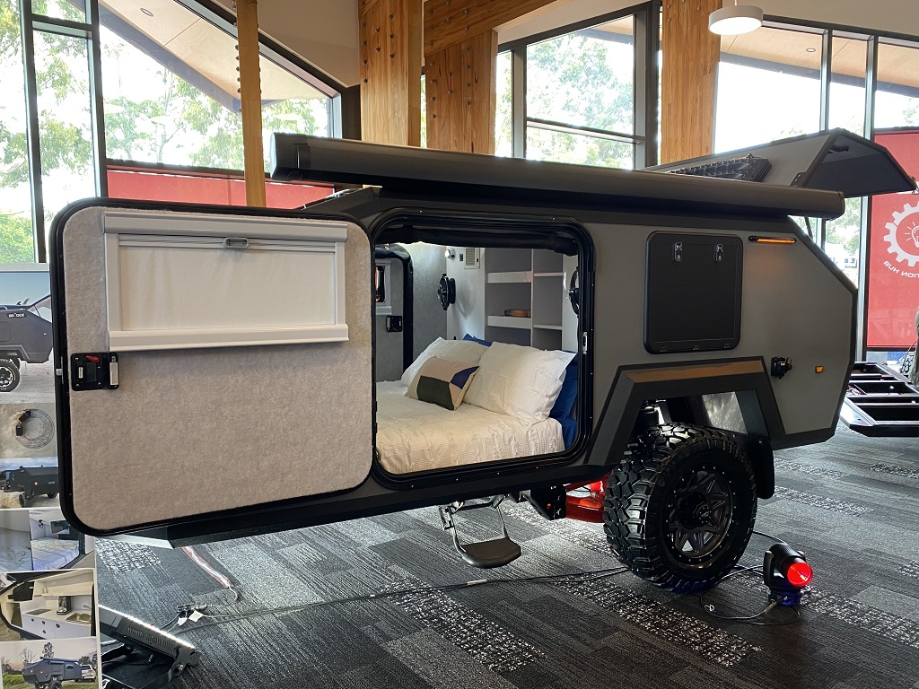 VIDEO: Bruder showcases new EXP 4 at the Victorian Caravan, Camping and Touring Supershow