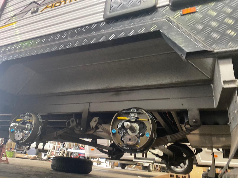 caravan brakes and bearings