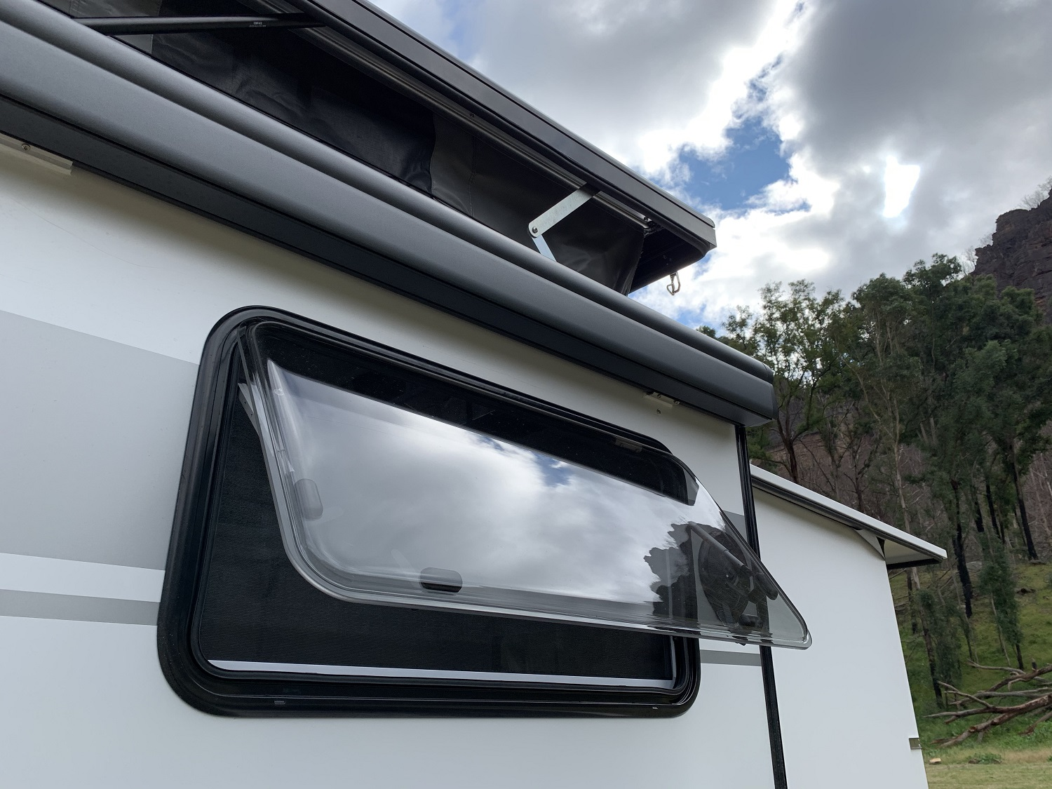 Take care cleaning caravan awnings, trims and seals