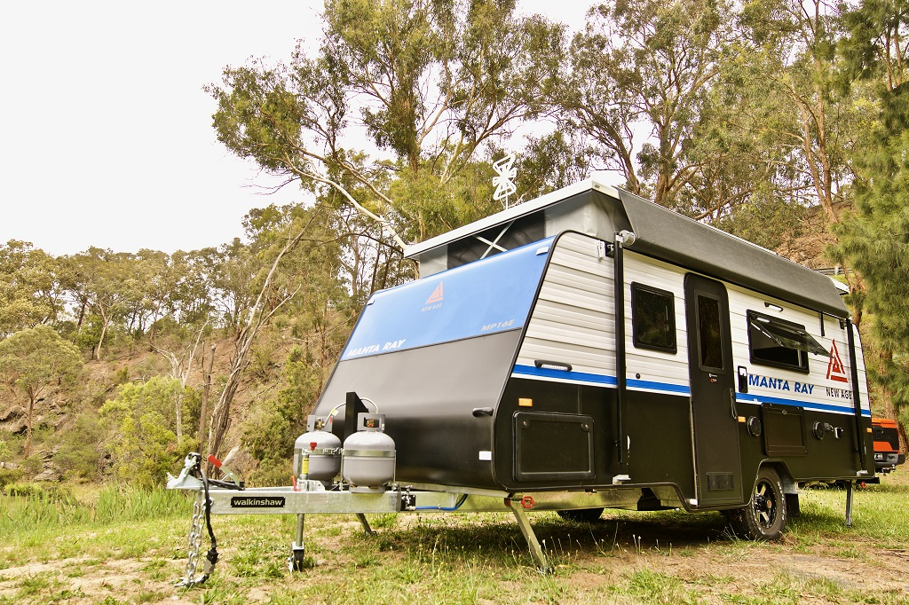 New Age Caravans announces a brand-new product range: The Manta Ray Pop-Top
