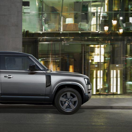 Land Rover defender winner