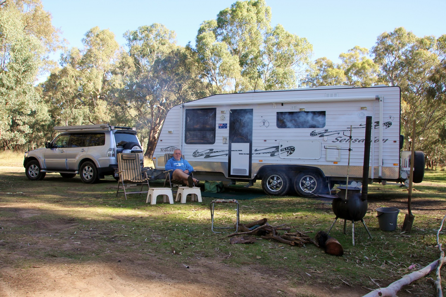 Free camp for tight-arse travel