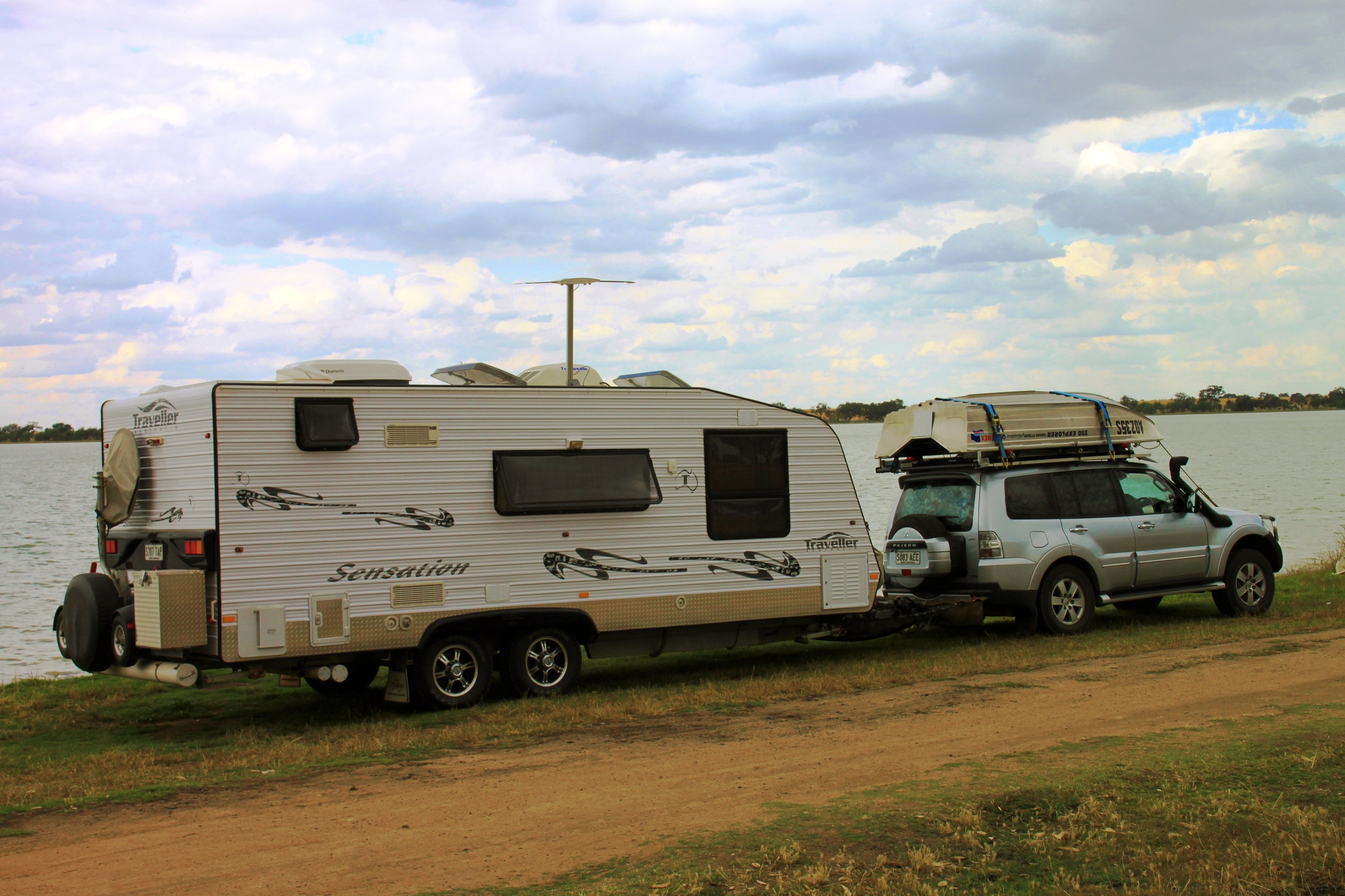 Lessons we have learned from waterside free camping