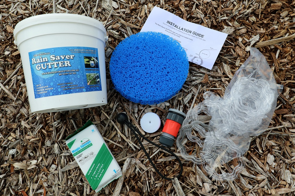 A Rain Saver Gutter kit