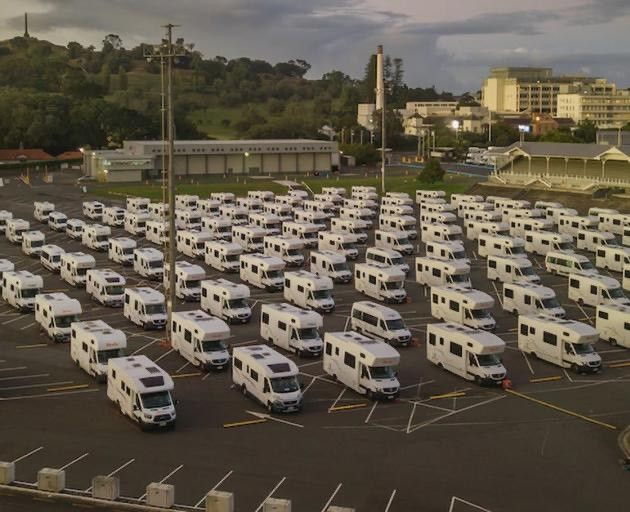 Hundreds of motorhomes ready for Kiwi isolation