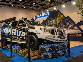 Narva Eye Catching Stand At 2021 Brisbane 4wd Show