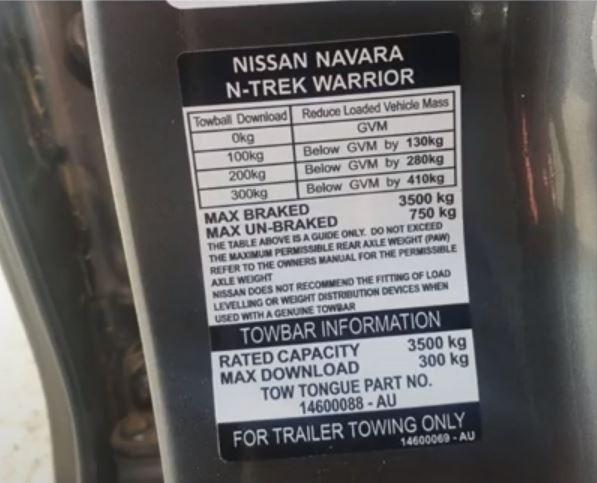 Navara Warrior Towing