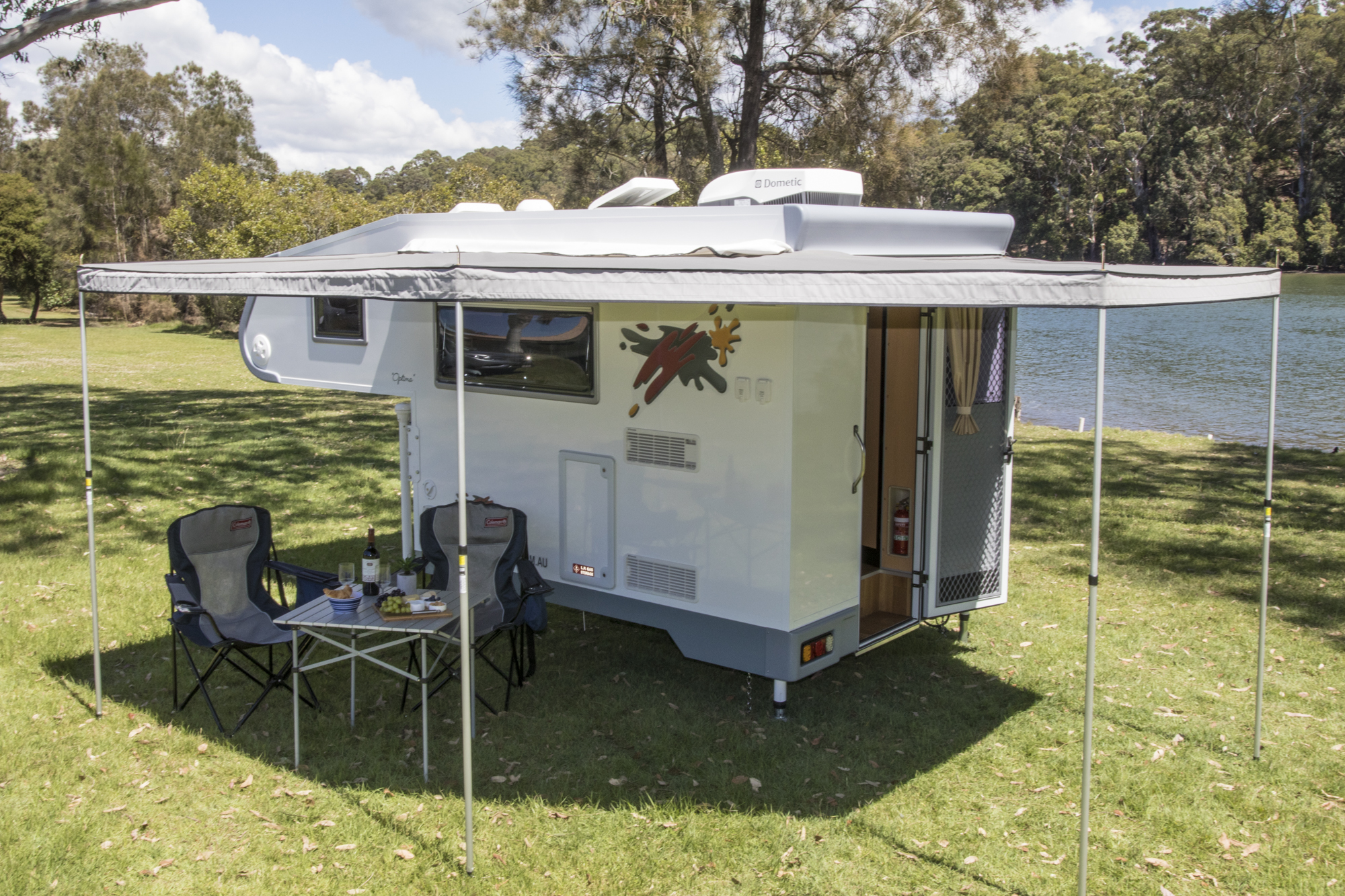 Review: Ozcape Campers Optima slide-on