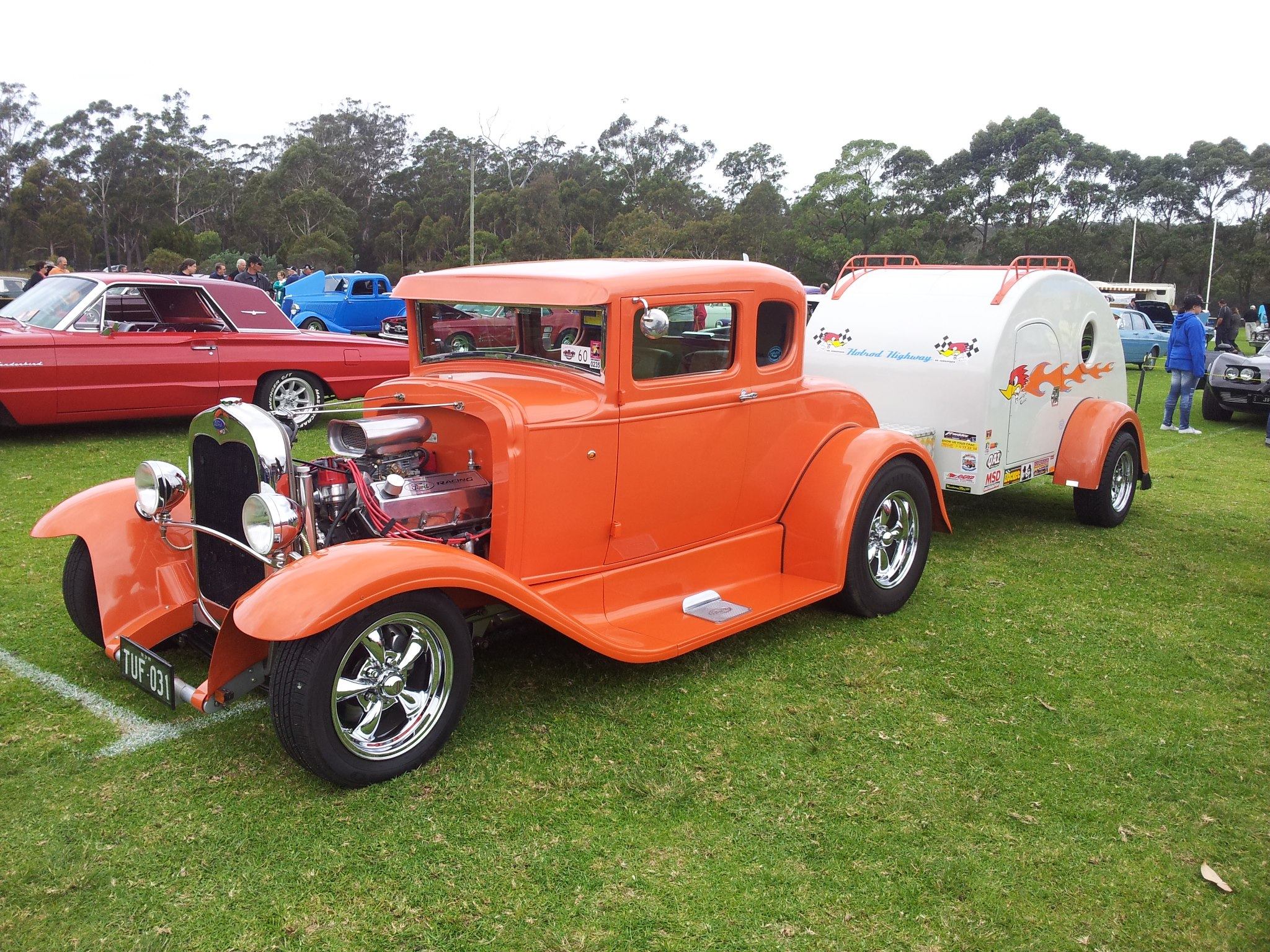 Pambula Motorfest Hot Rod & Teardrop
