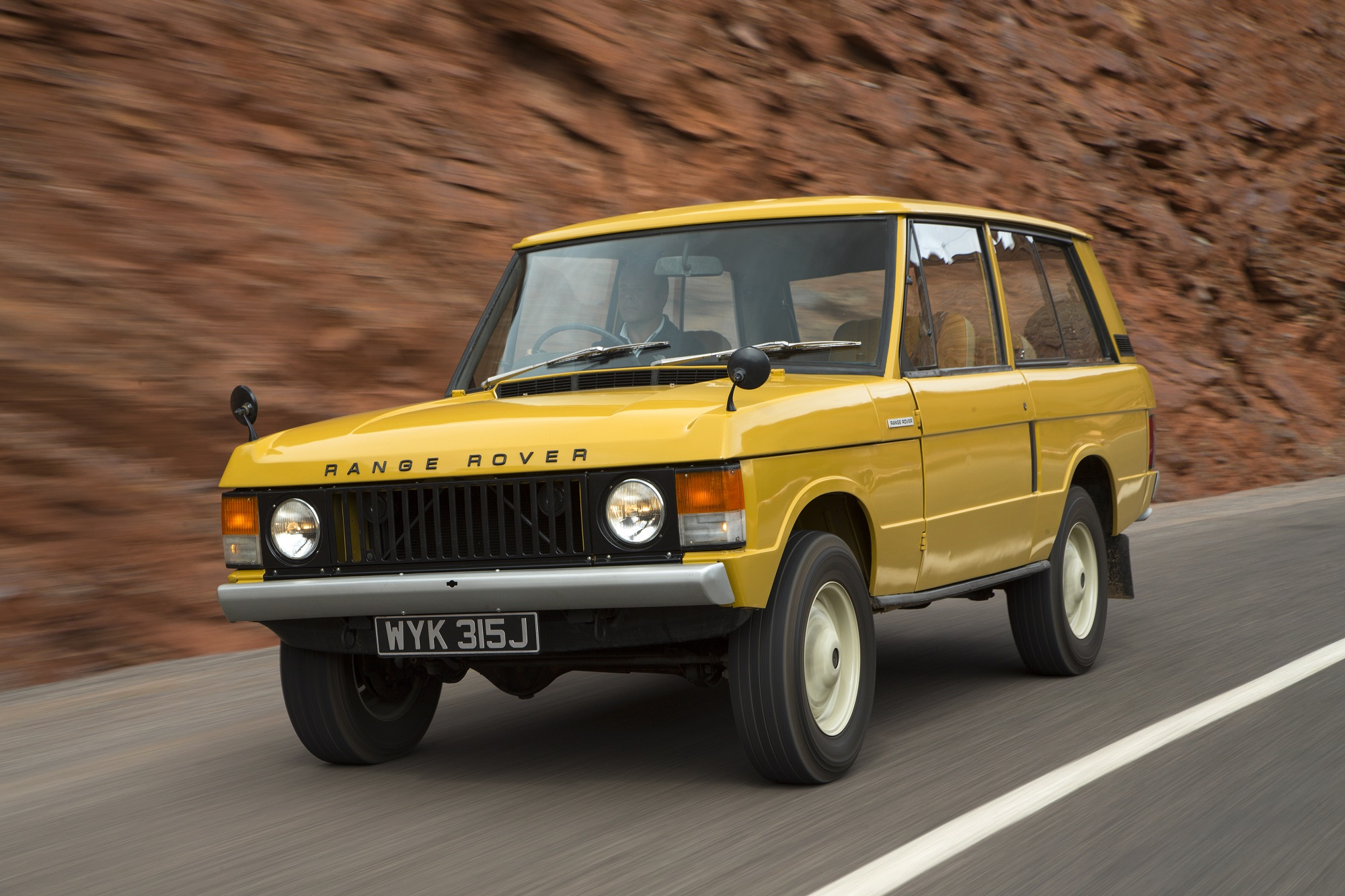 1970 Range Rover Classic Morocco