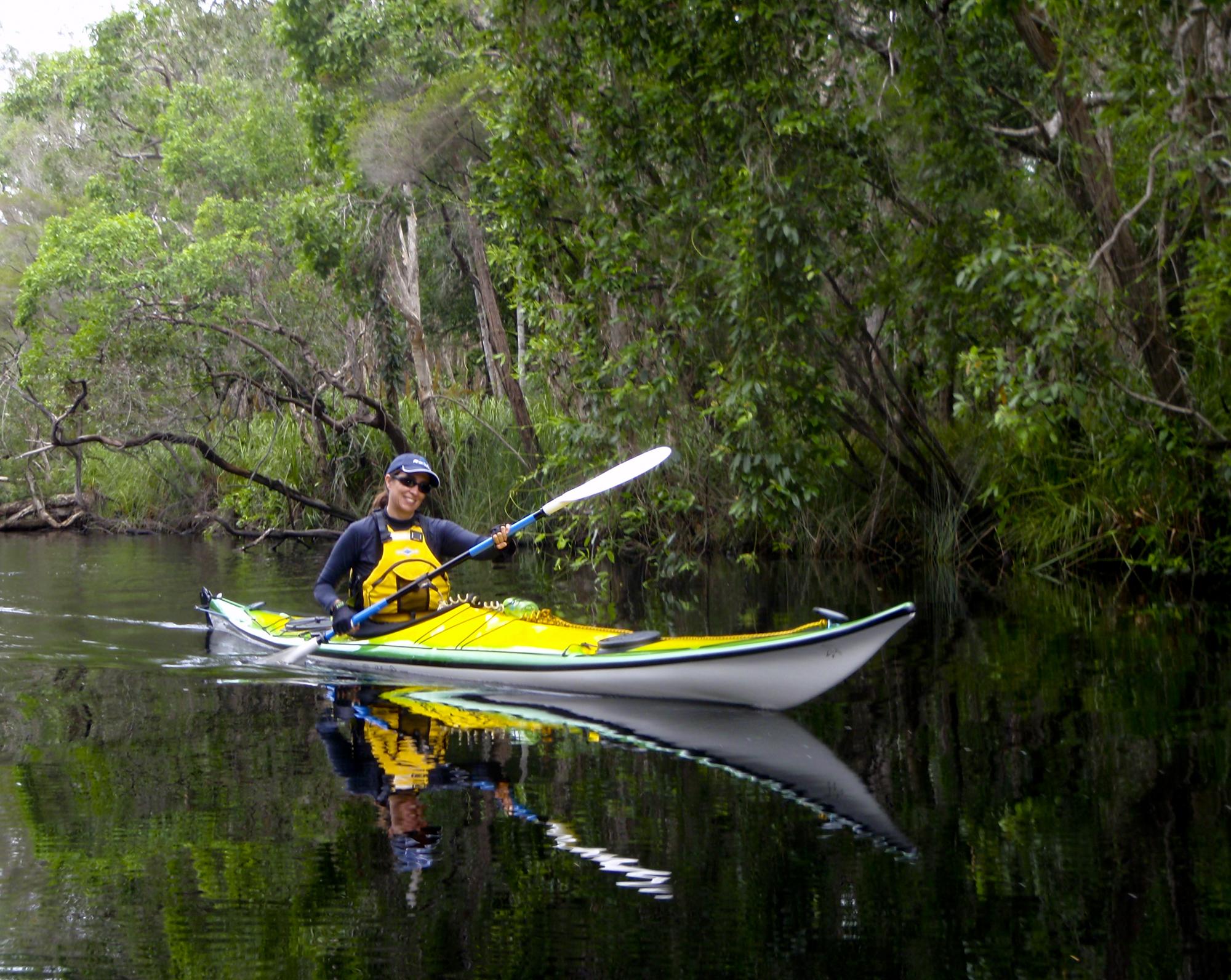 Kayaking Noosa River