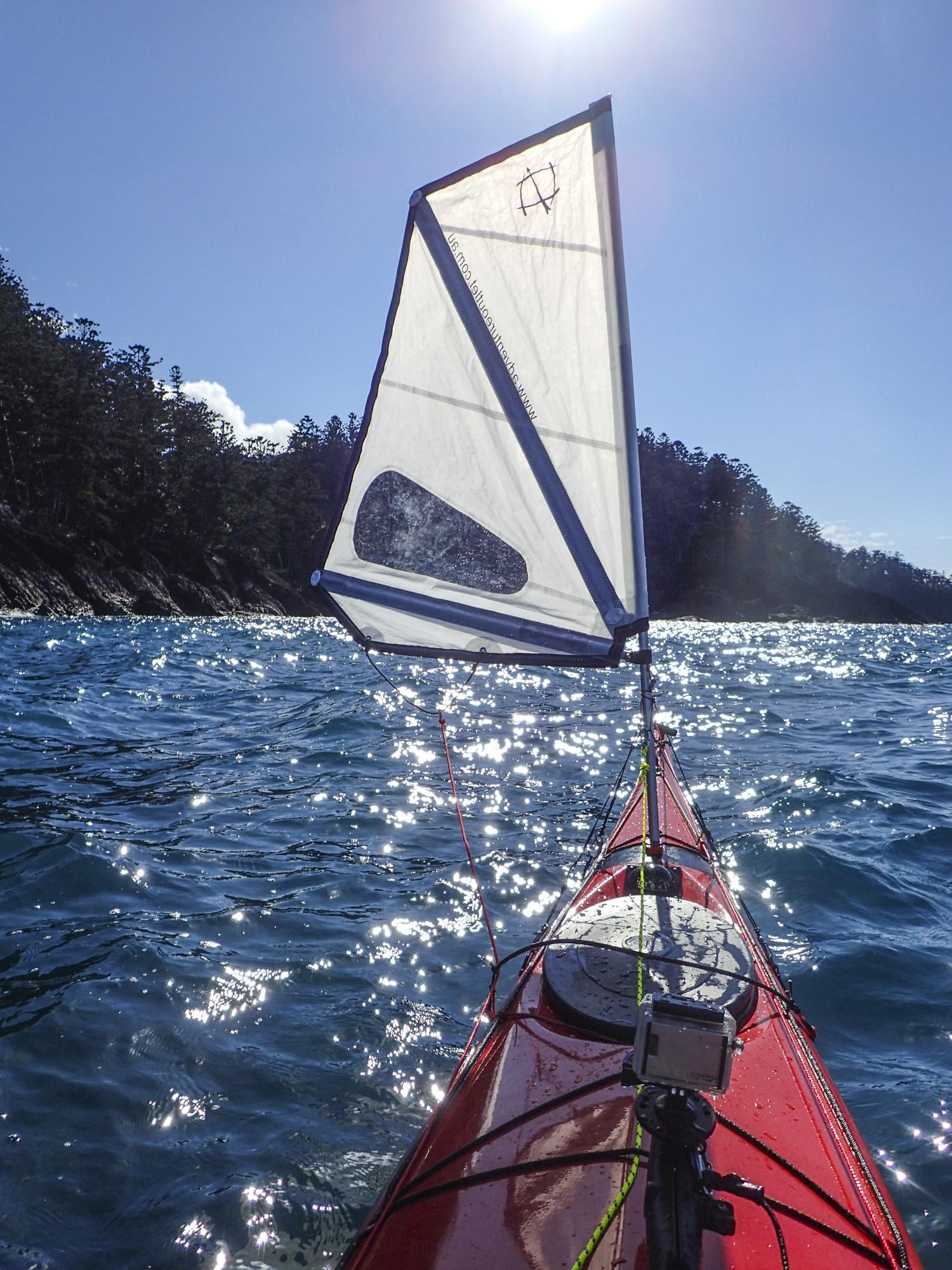 adding a sail to a kayak