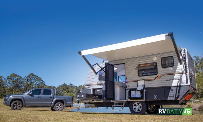 Check out what Bushtracker does with 16-feet of caravan