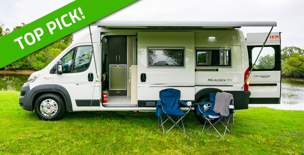 Rvd051 Advice Buying Right 5 Entry Level Motorhomes 4a Horizon Exterior Top Pick