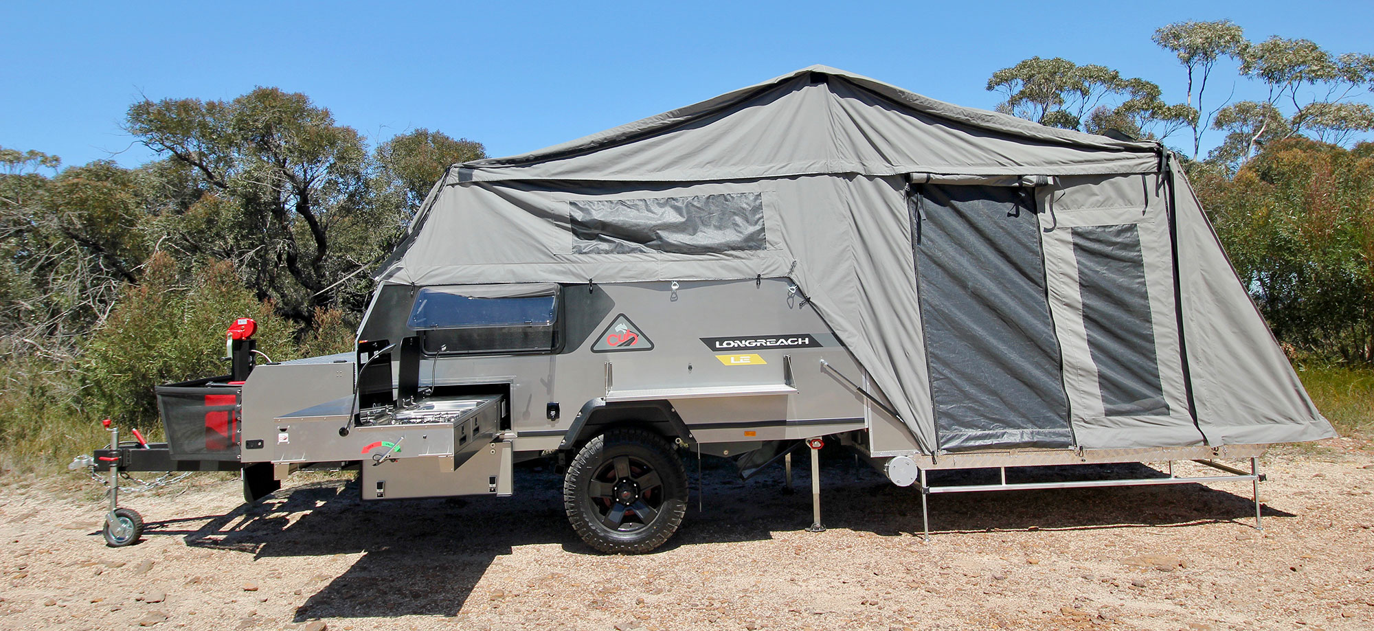 Rvd051 Rv Camper Trailer Review Cub Longreach Le 4 Img 1194