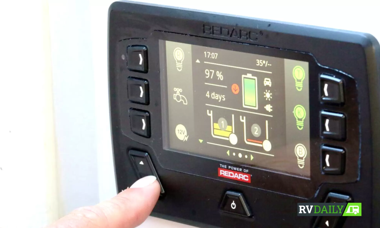 Redvision Control Panel