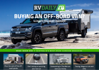 ISSUE 050 – Buying an off-road van, caravanning in the wet, ute or wagon and much more…