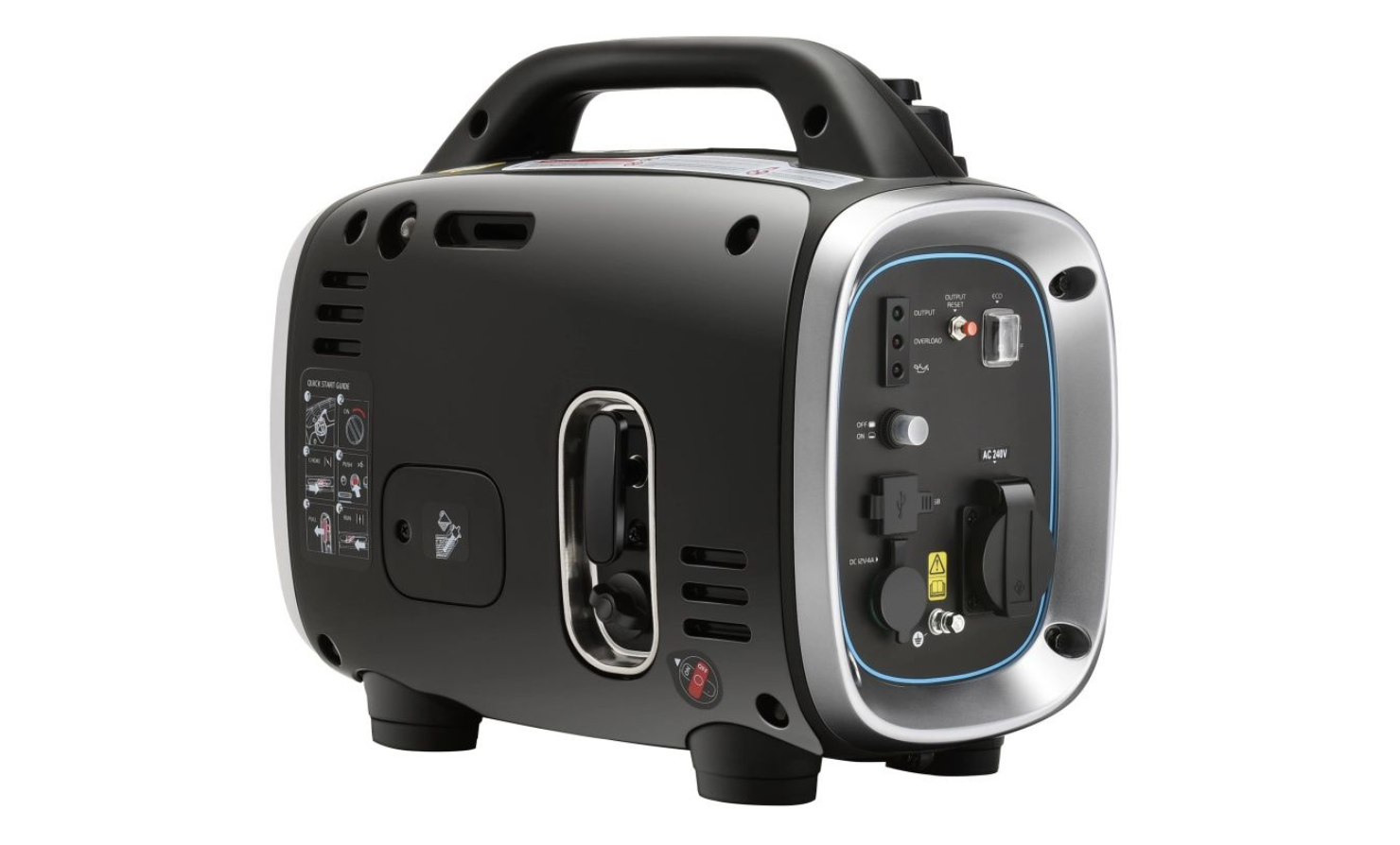 reduce payload with a Gentrax 800 watt generator