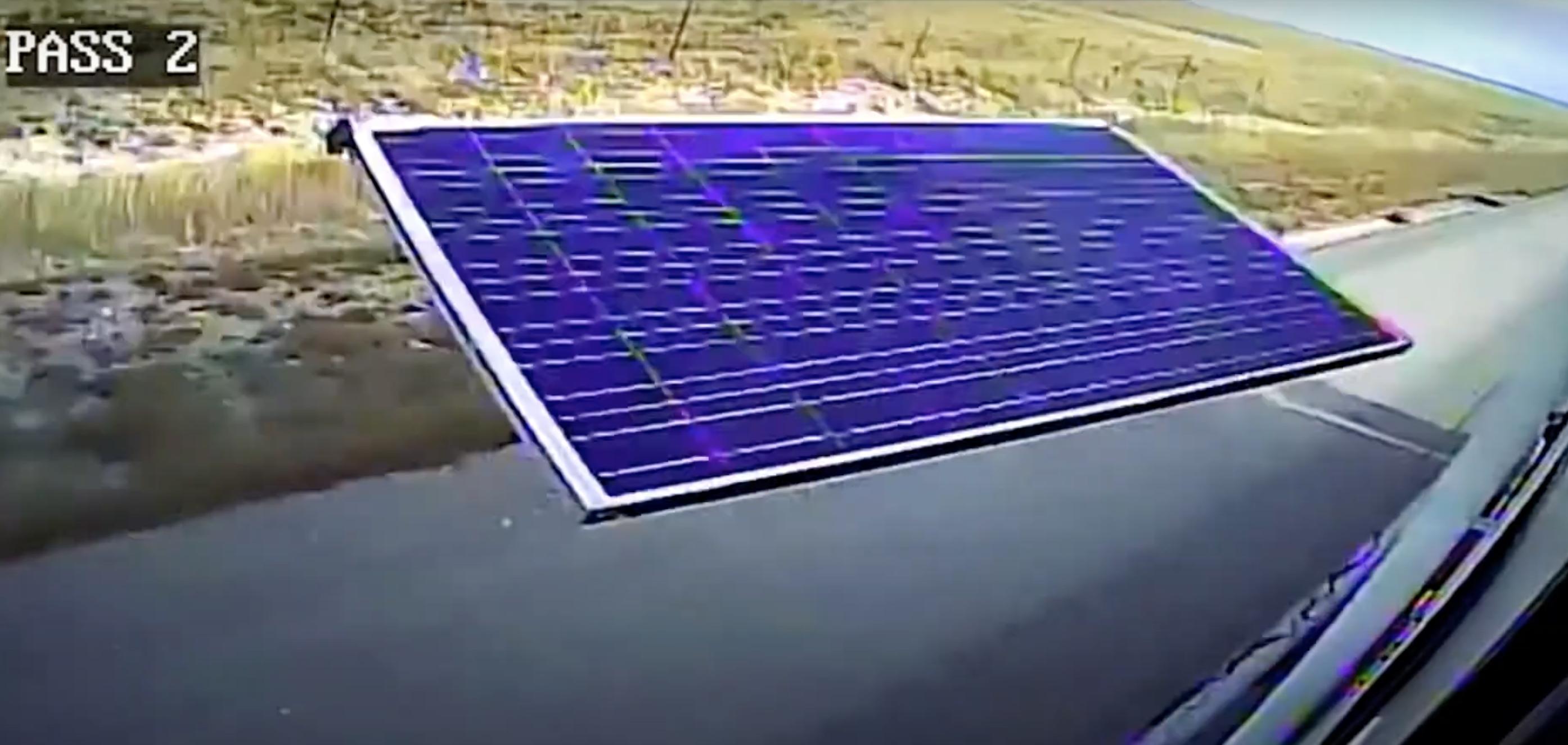 flying solar panels - not a good sight