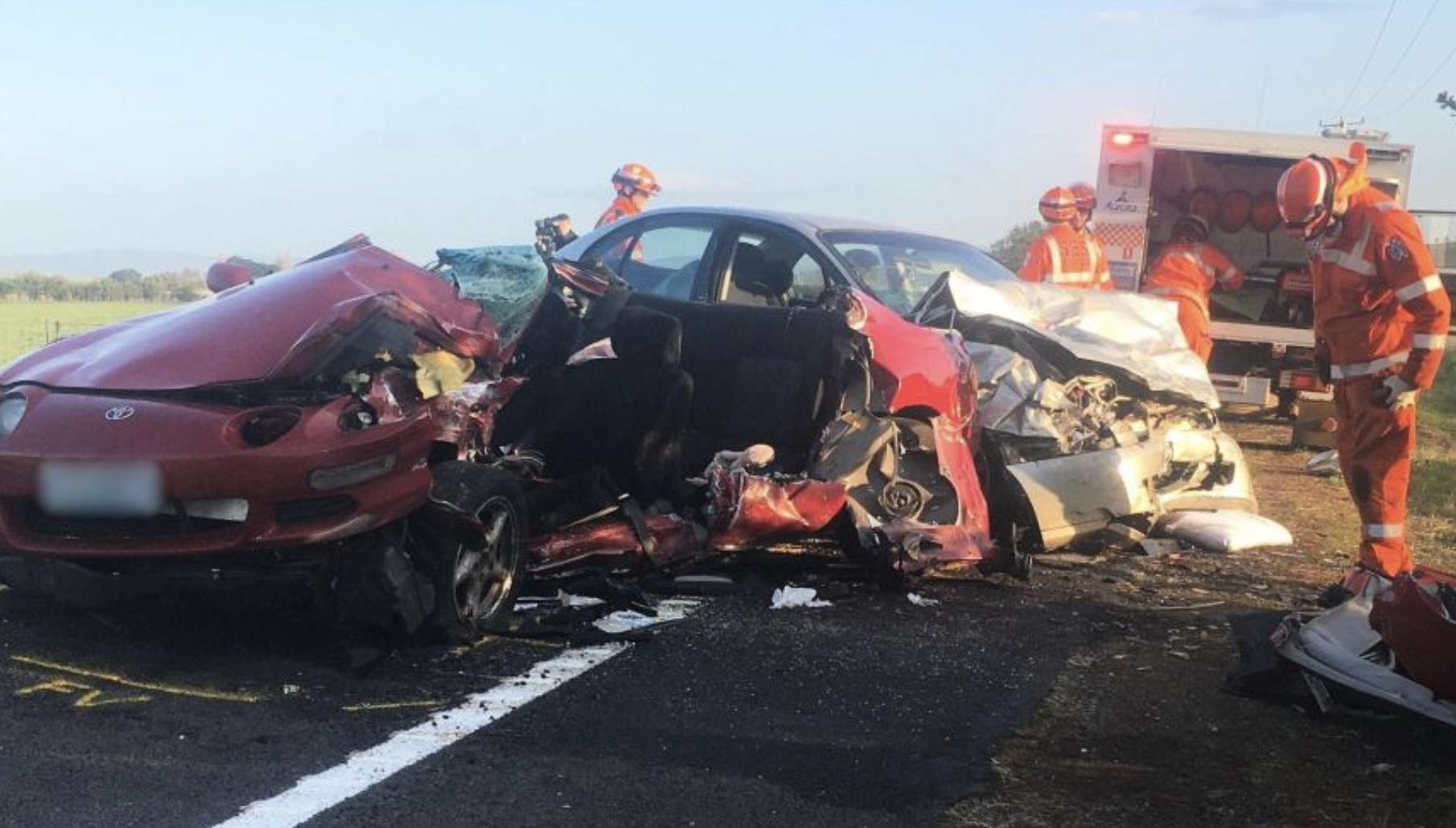 flying solar panels - Tasmania crash scene