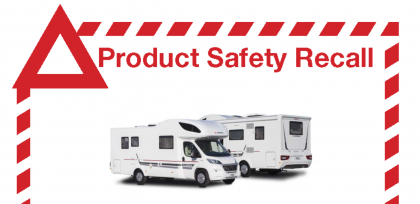 Adria Coral Motorhomes Recall