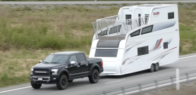 The KABE Royal Tower – The story behind the double-deck caravan