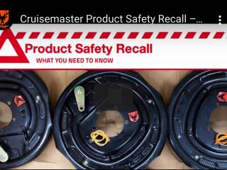cruise master brake recall