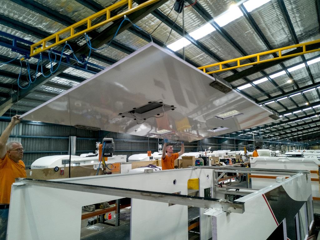 Caravan construction: Stick and tin vs composite panels