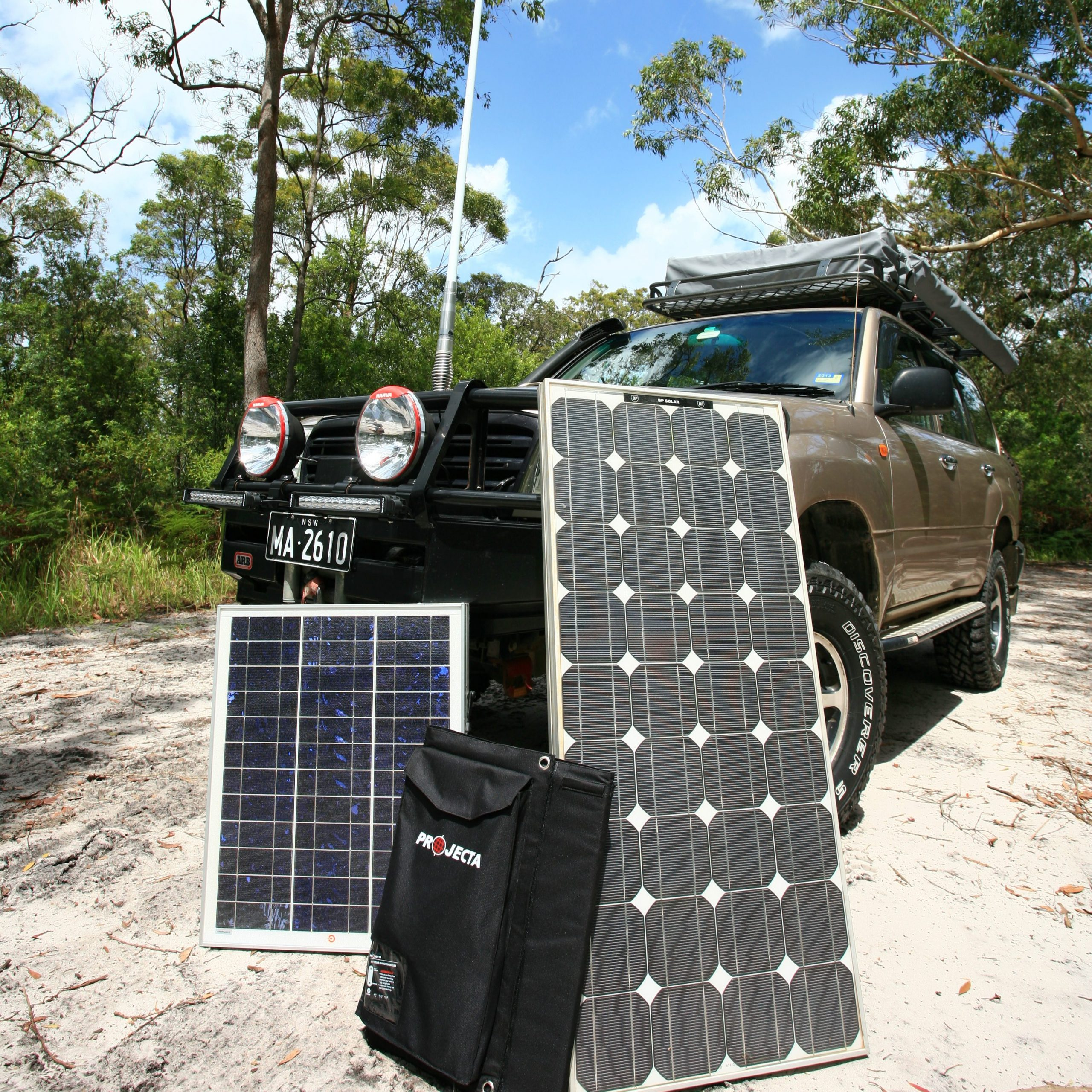 A variety of solar panel options