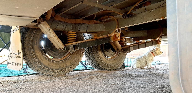 Roadstar Safari Tamer suspension