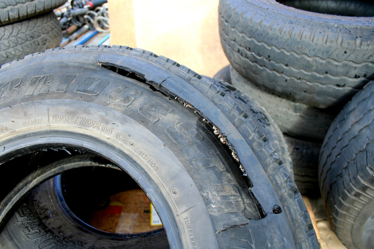 Tyres Can Blow Out For A Number Of Reasons, But Incorrect Pressure Or Too Old Tyres Are The Main Ones