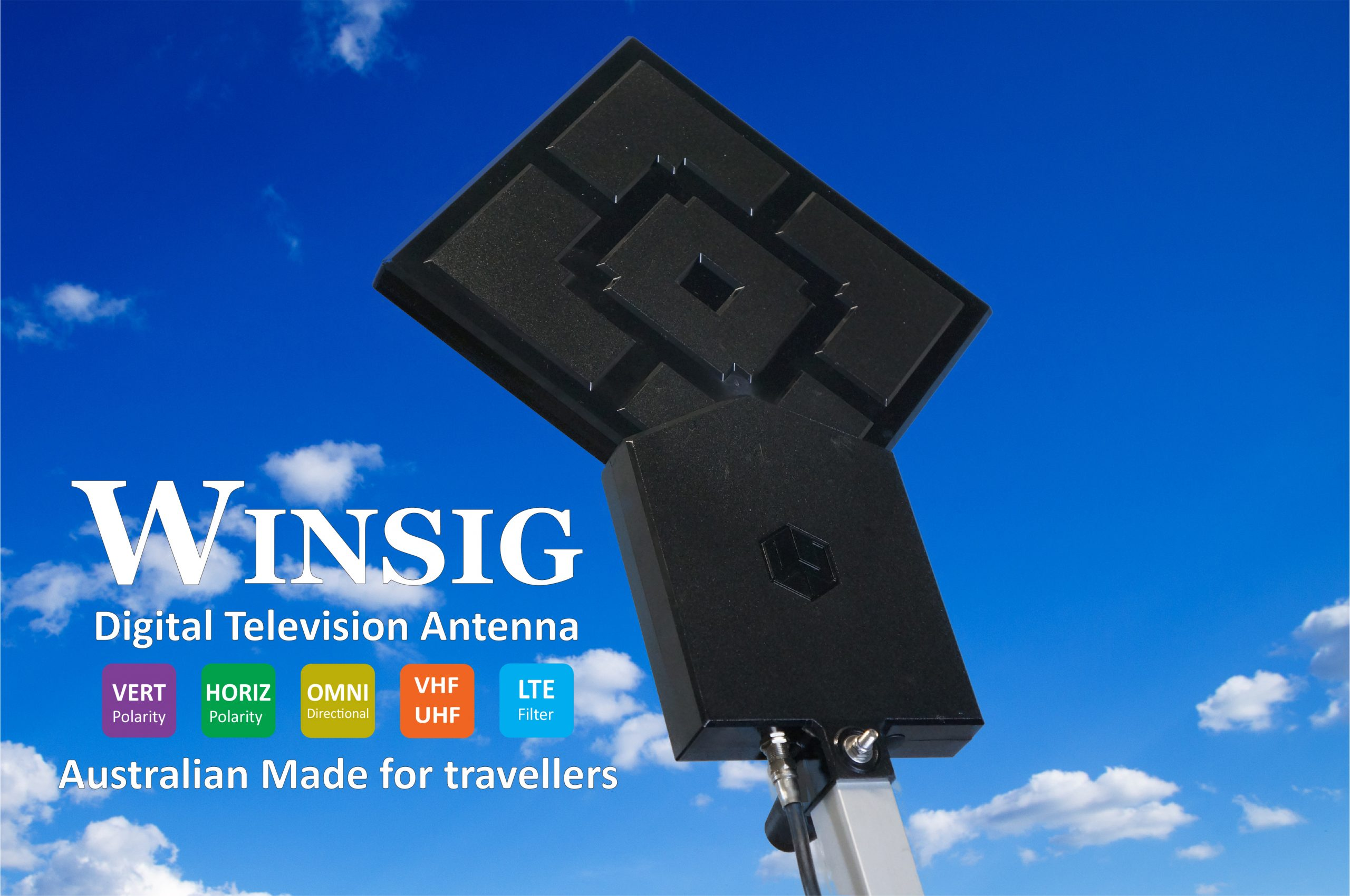 Winsig's new TV / 5G antenna promises better reception