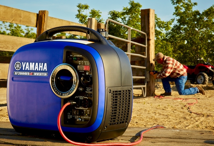 Yamaha Ef2000is Portable Inverter Generator 735x500