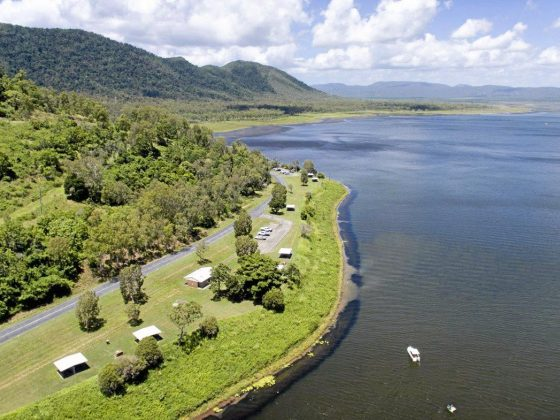 Lake Proserpine free campground