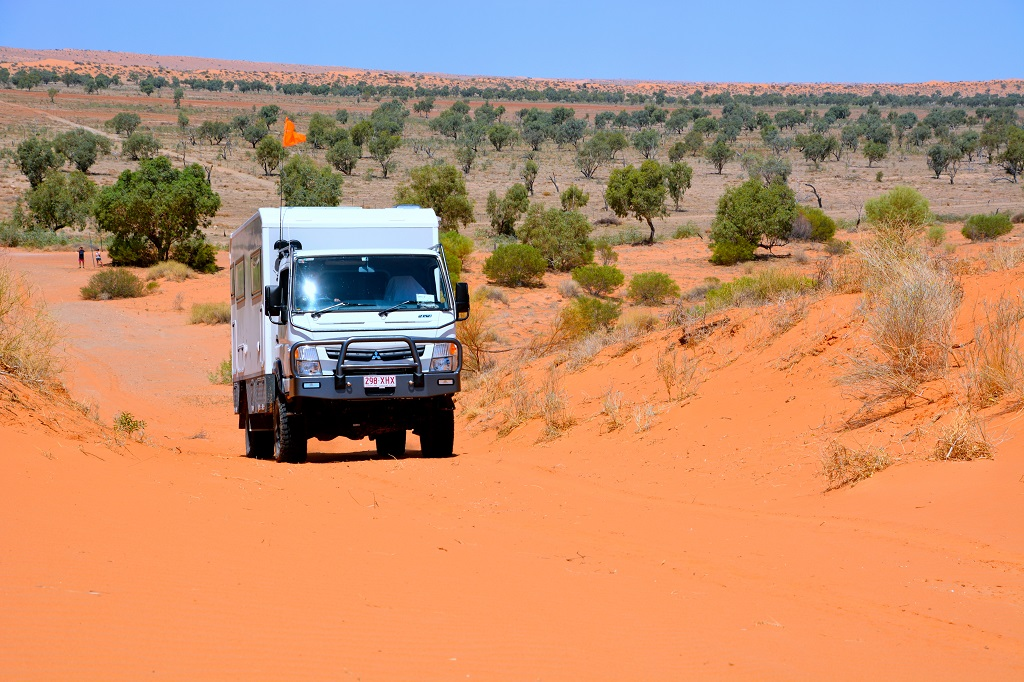 The AAV Canter Global Xplorer has off-road capability and camping comfort