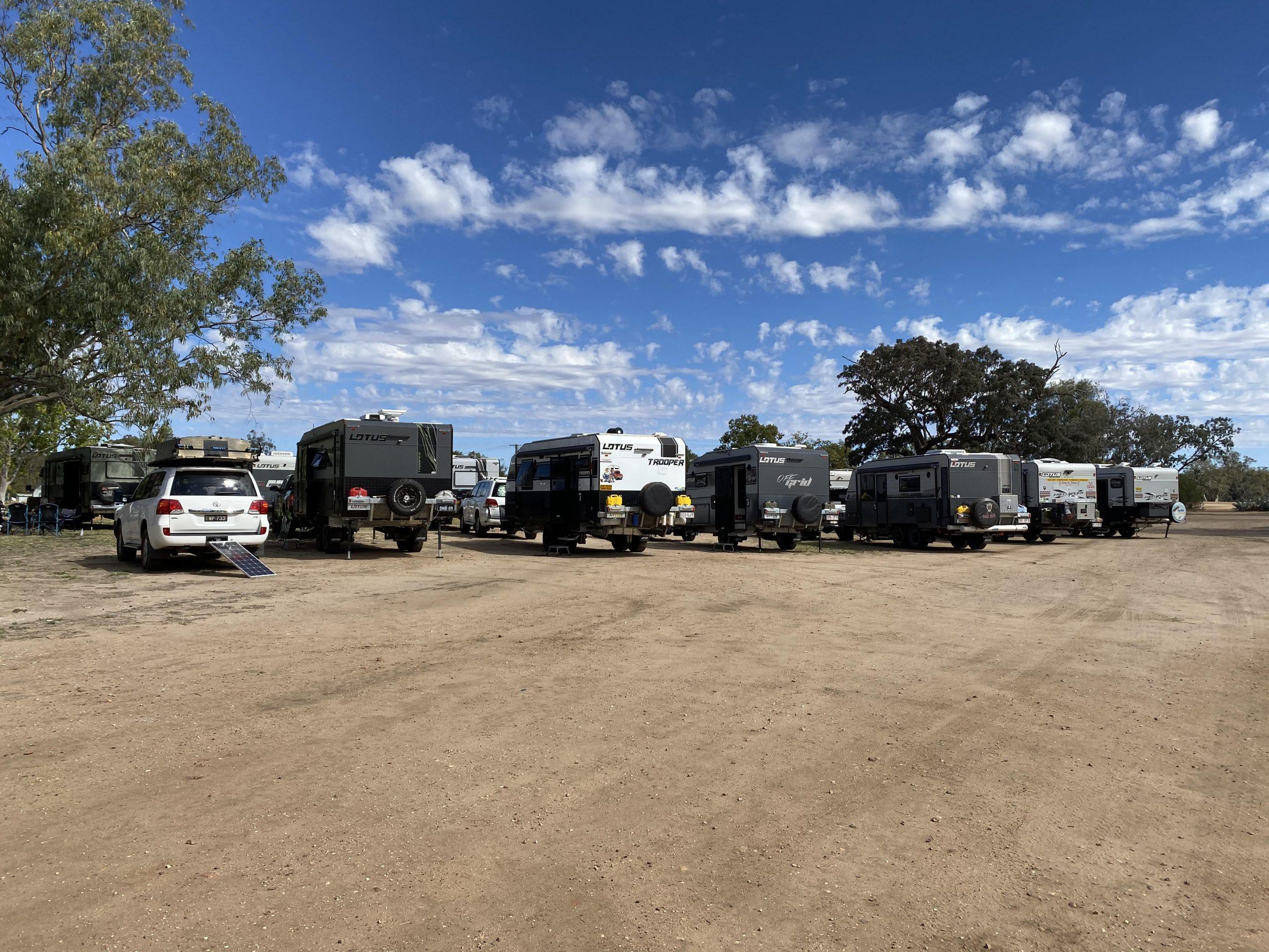 Group Focus - Lotus caravan owners