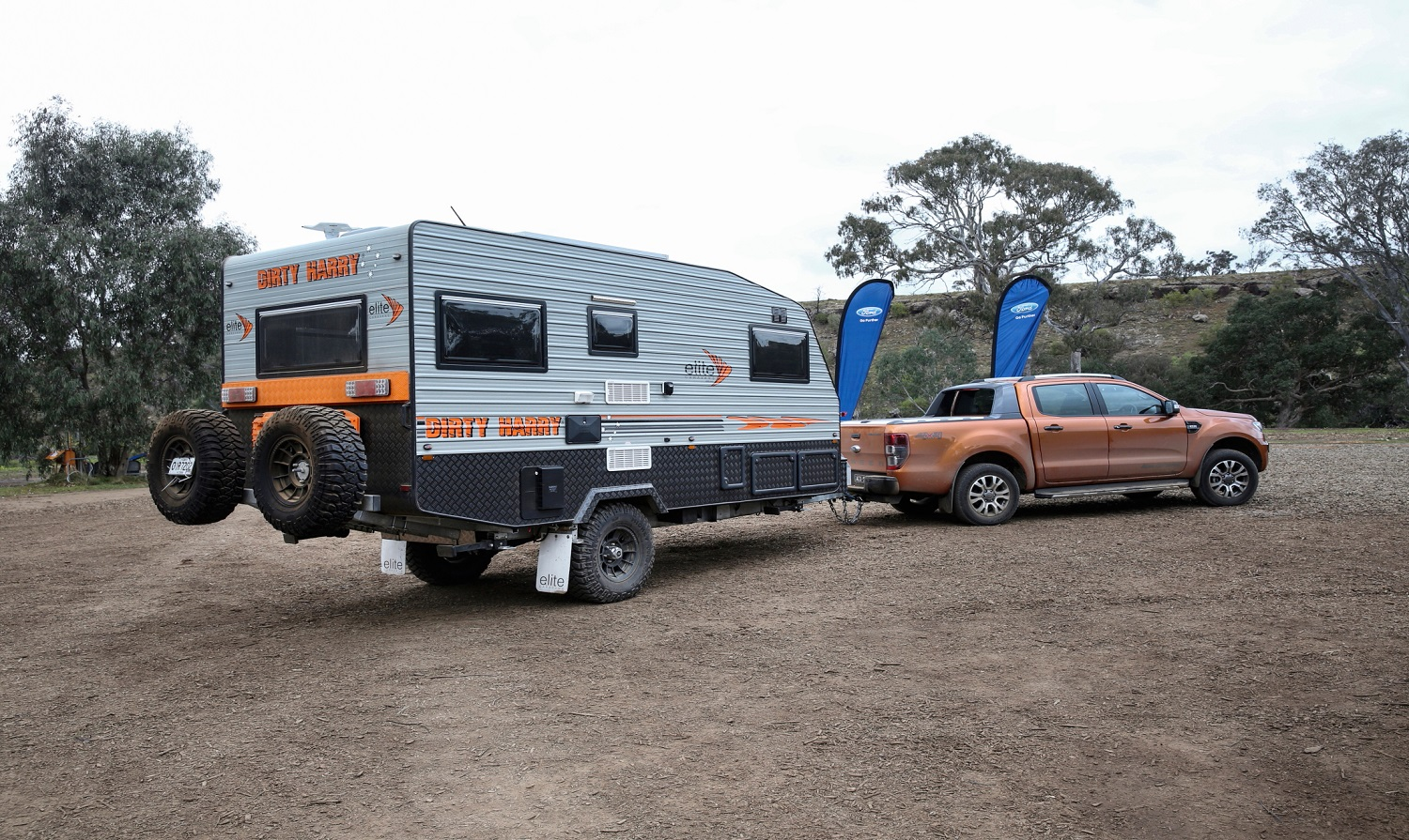 A Ford Ranger has a low payload when hitched