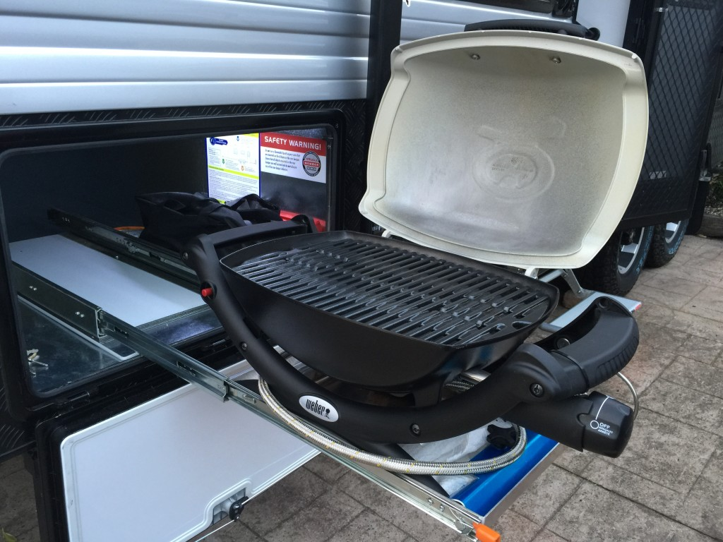 save payload with a Weber Baby Q