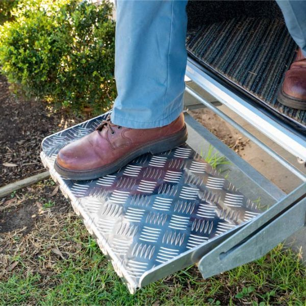 How could you forget your caravan step? Extenda Step Mark 1