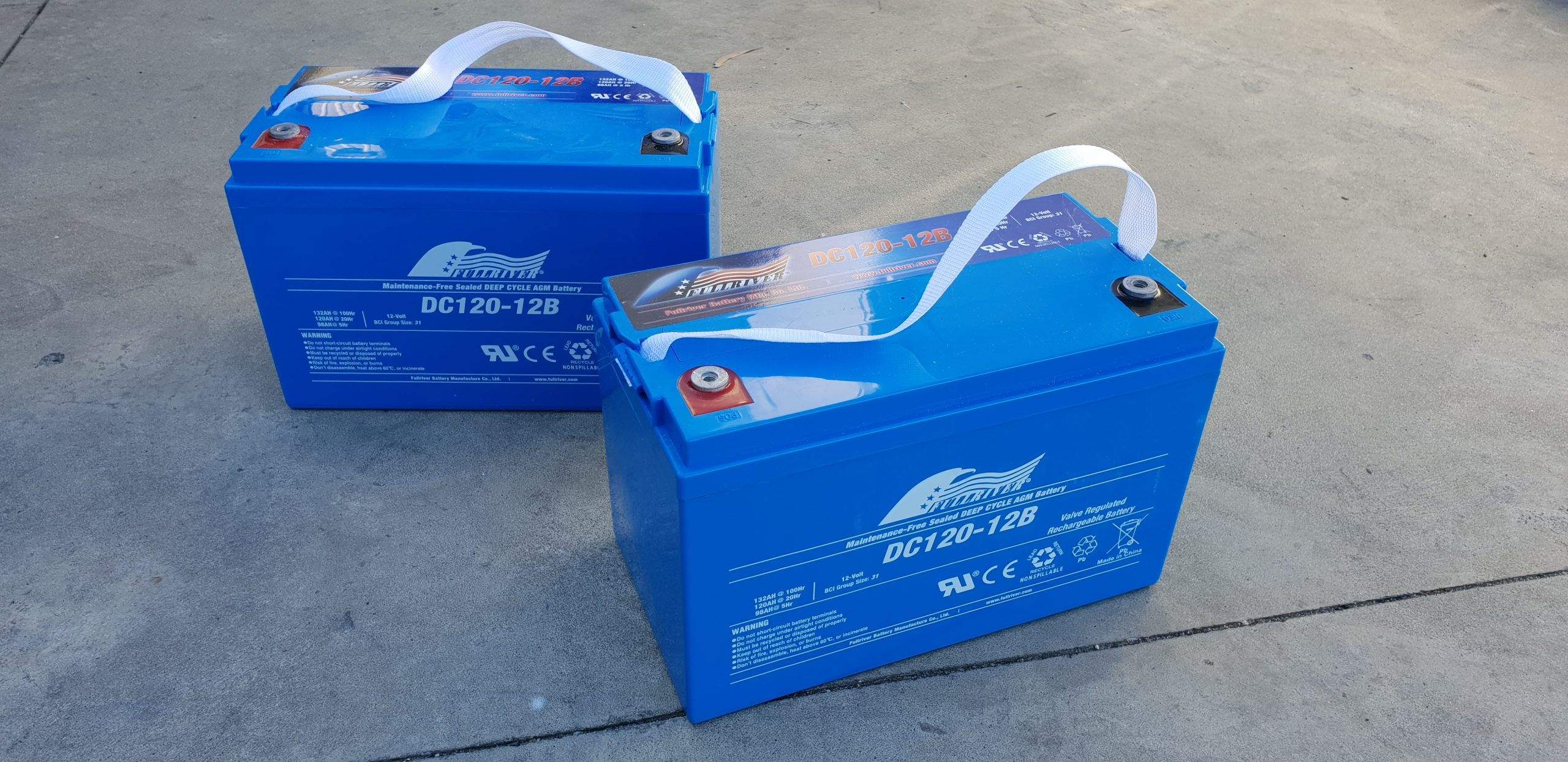 reduce payload and replace heavy AGM Batteries