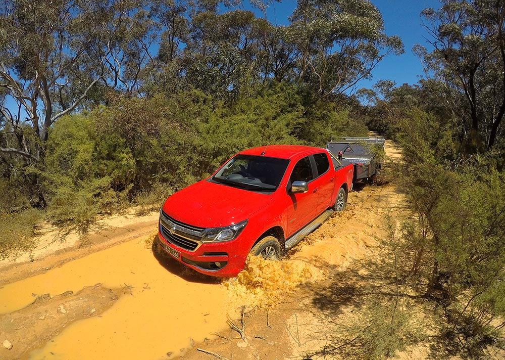 Rvd046 Ed Review Tow Test 2020 Holden Colorado Ltz 5 1000px Gopr2291