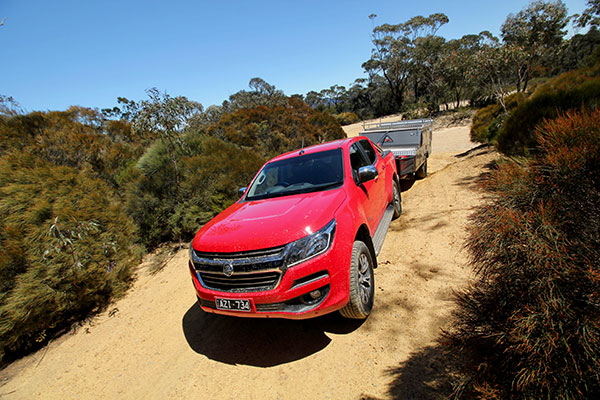 Does the 2020 Holden Colorado LTZ make for a viable towing proposition?