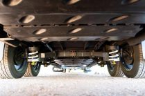 Caravan chassis and suspension design and ratings