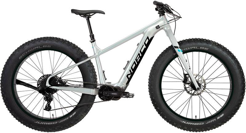 eBikes and RVs, a Norco E Fat Bike