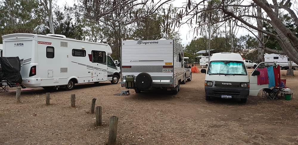 A caravan park needs safe water practices