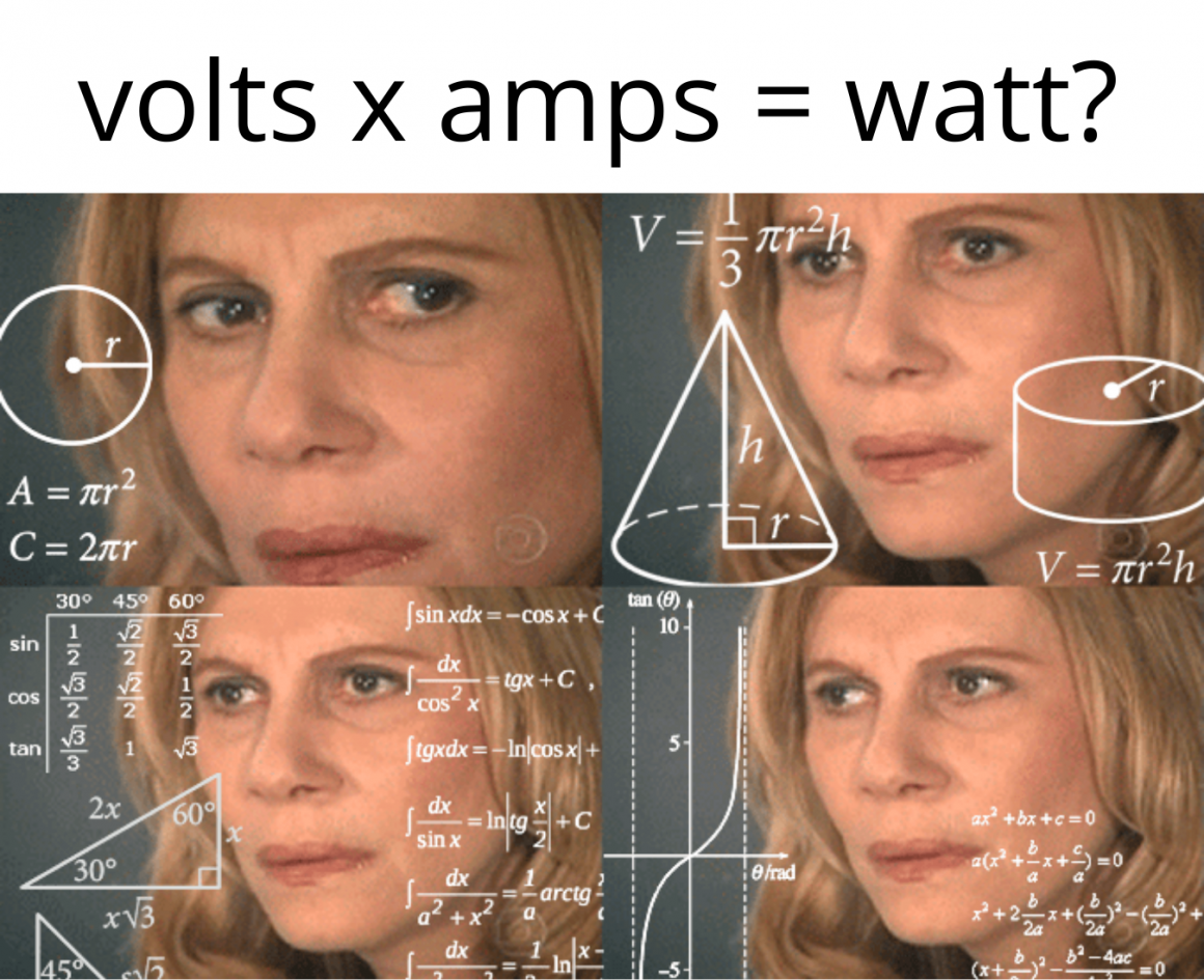 confused maths meme